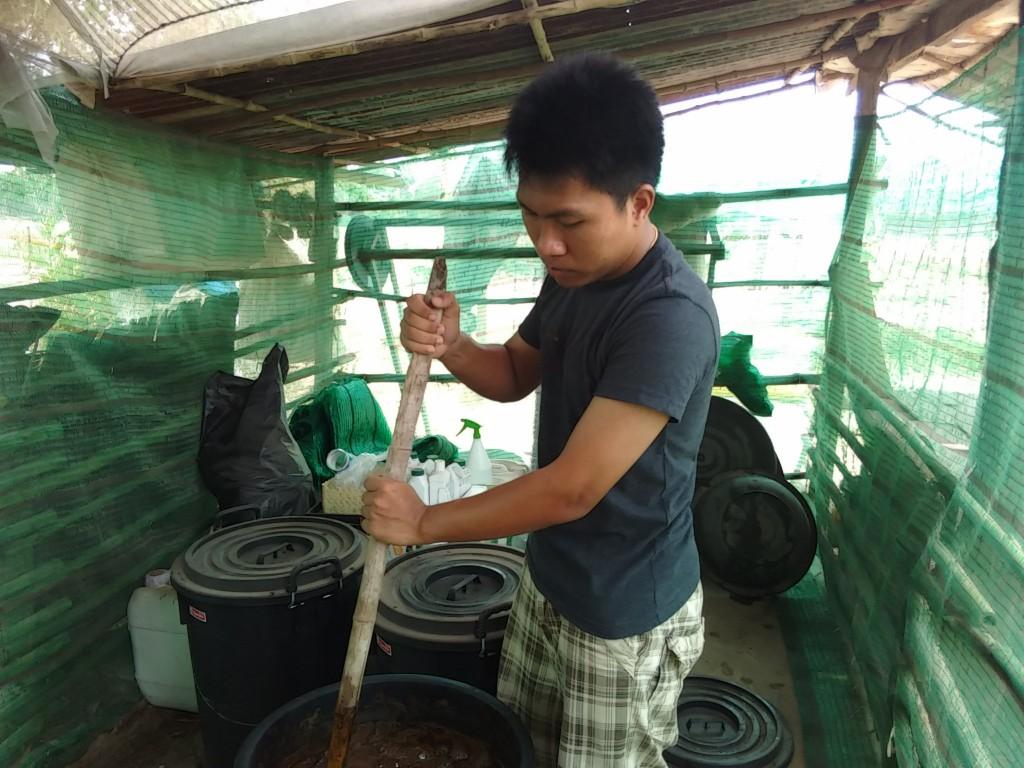 การทำปุ๋ยอินทรีย์น้ำ